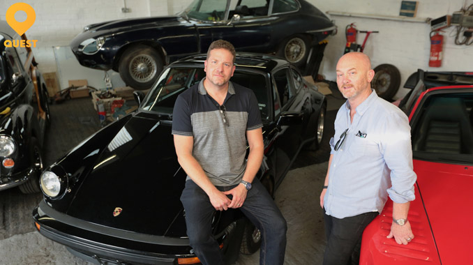 Wheeler Dealers Joined By Salvage Hunters Drew Pritchard