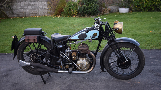 London Motorcycle Show >> British Classic Motorcycles Go Under The Hammer In February
