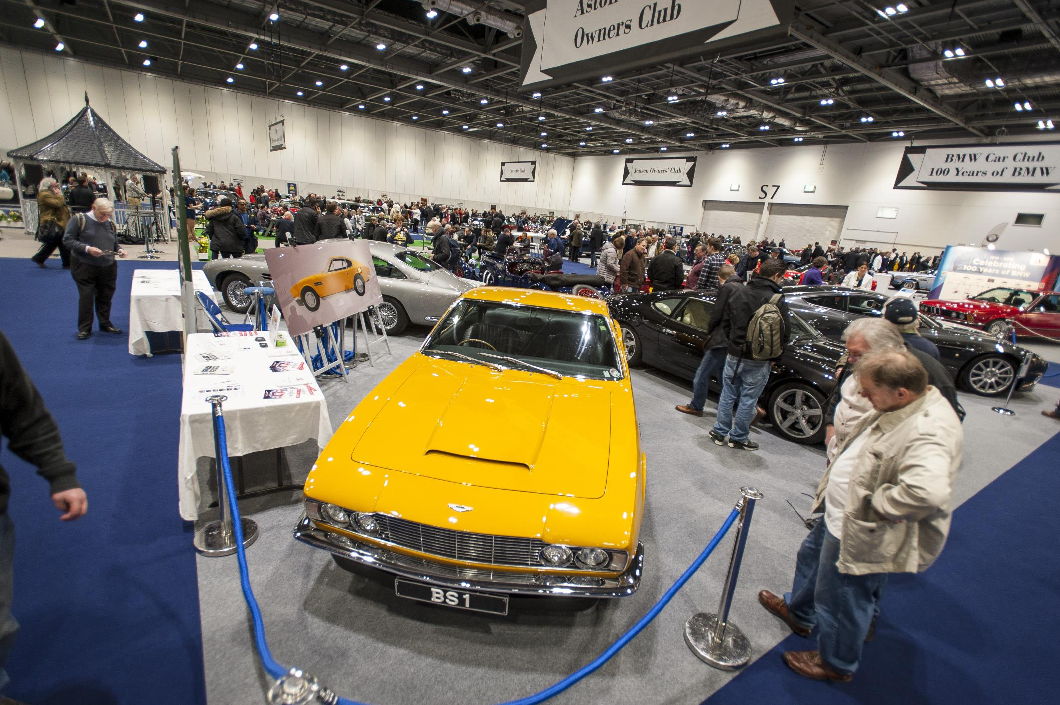 London Classic Car Show Biggest And The Best Yet