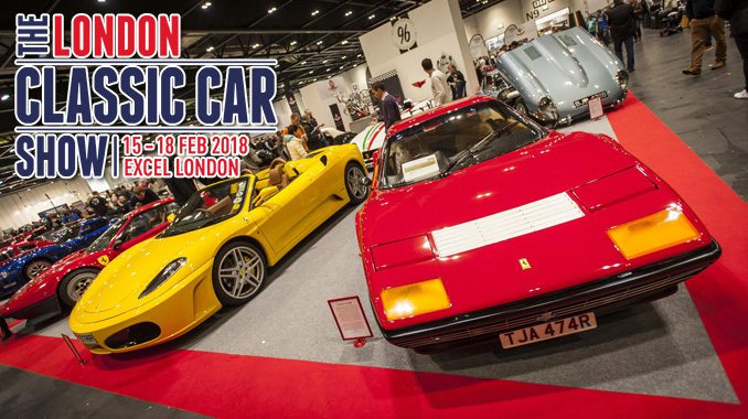 London Classic Car Show Biggest And The Best Yet - London classic car show