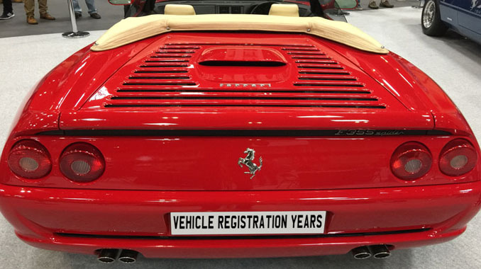 Vehicle Registration Years