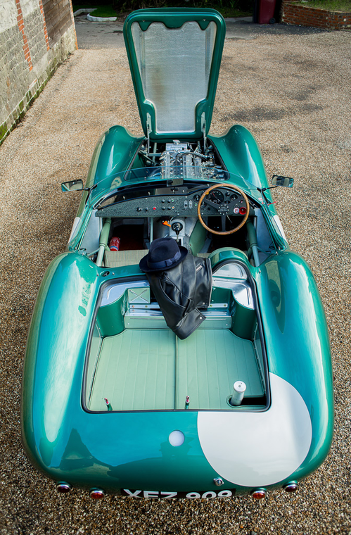 Rare recreation of 1950's Aston Martin racing legend the DBR1 for auction