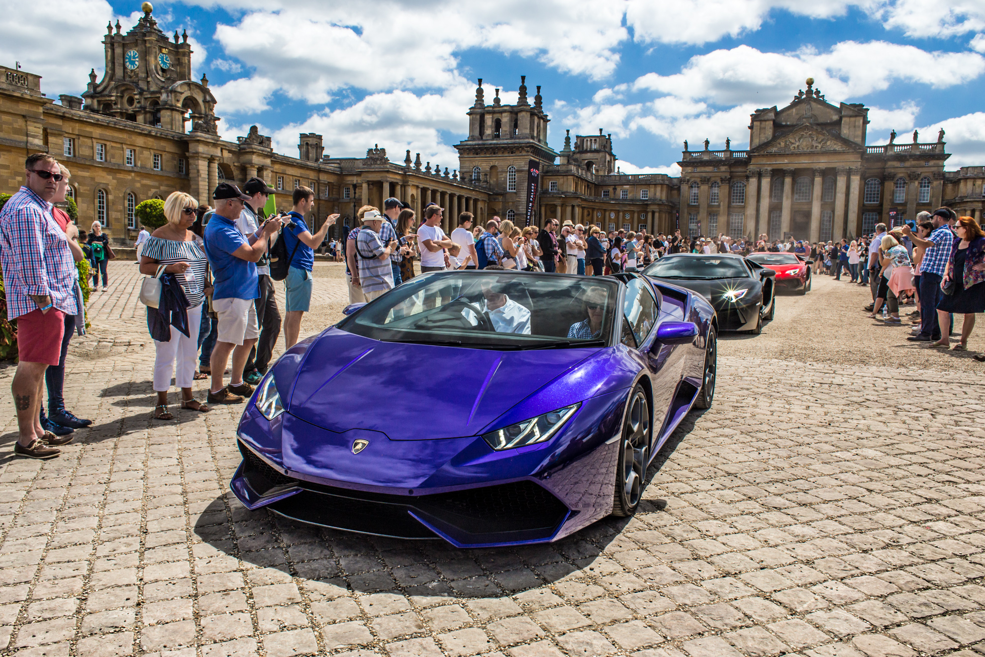 Supercars at the Palace