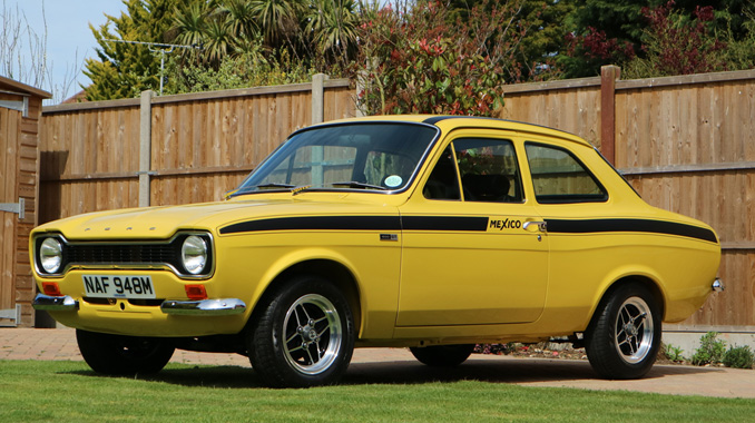 Ford Escort Mk1 Mexico Breaks World Record Selling For 163