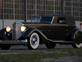 1934 Packard Twelve Individual Custom Convertible Victoria