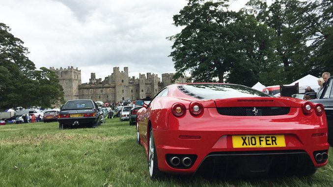 Raby Castle Classic Vehicle Show 2018
