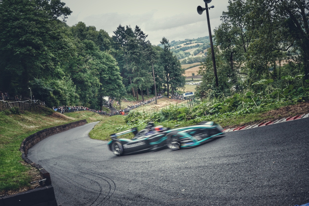GKN Driveline and Panasonic Jaguar Racing at Shelsley Walsh