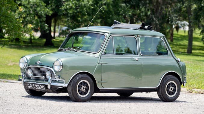 Twist And Shout Paul Mccartney Mini Cooper Sells For 182000