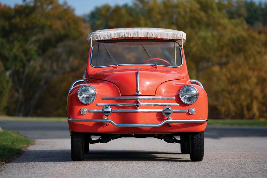 The Cutest Ever Renault 4cv Jolly By Ghia Could Be Yours