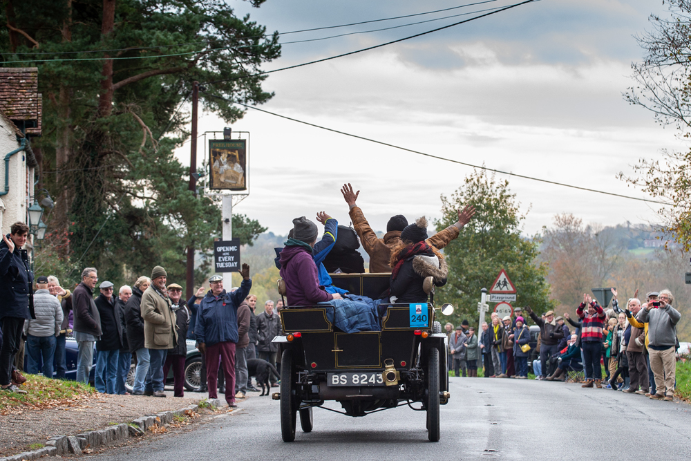 The 2018 Bonhams London to Brighton Veteran Car Run