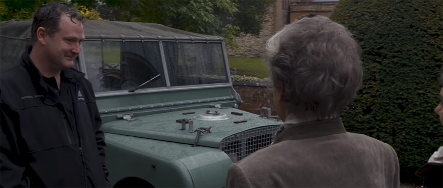 Dorothy Peters - Land Rover