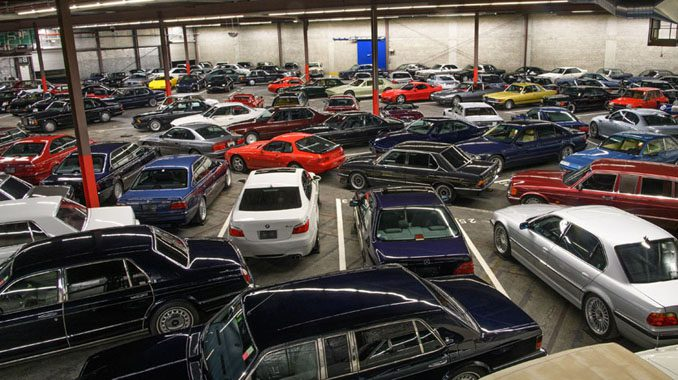 Dream Garage Goes To Auction