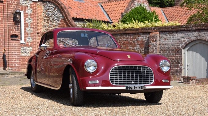 1949 Ferrari 166 Inter Superleggera Coupe