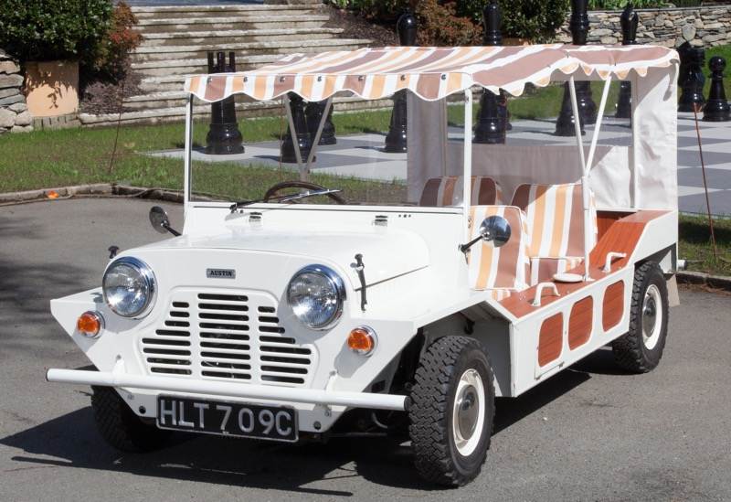 Mini Moke featured in The Prisoner