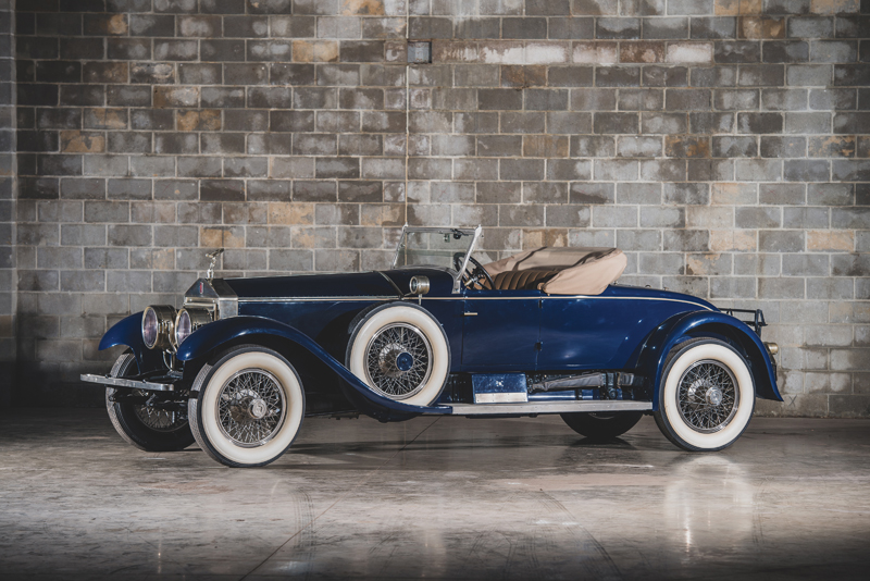 1925 Rolls-Royce 40/50 HP Silver Ghost Piccadilly Roadster by Merrimac