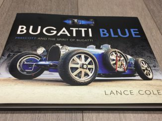Bugatti Blue - Prescott And The Spirit Of Bugatti