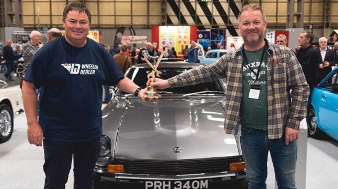 Success For Paul Henley His Datsun 240z At Nec Restoration Show