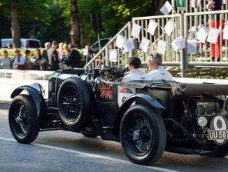 Bentley at Mille Miglia