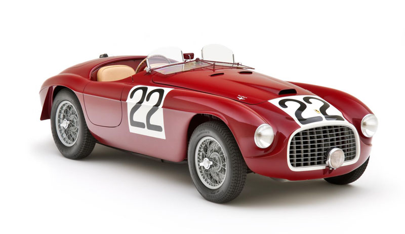 Ferrari 166MM Mille Miglia and Le Mans winner