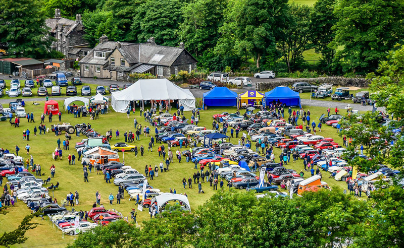 lakes charity classic car show