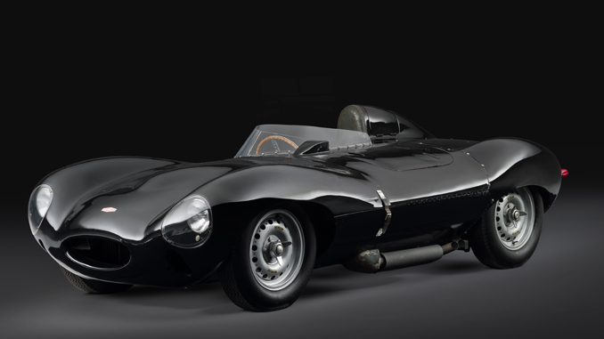 Jaguar D-Type Coupe