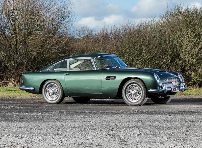 Aston Martin DB4 Series IV 4.2-Litre Vantage Sports Saloon