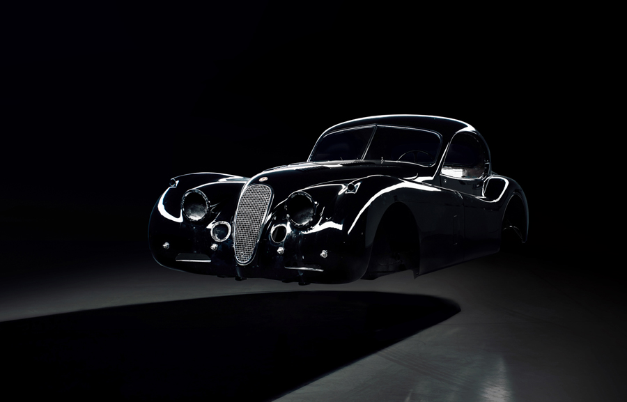 Electric Jaguar XK 120
