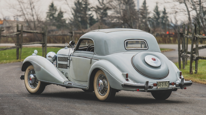 Missing Coupe - Mercedes Benz 540 K