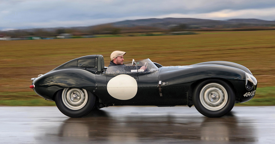 Historic Rare Jaguar D-Type