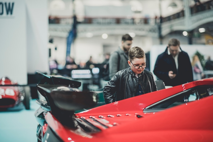 London Classic Car Show preview evening