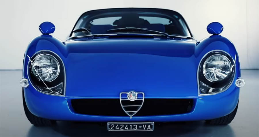 Blue Tipo 33 Stradale
