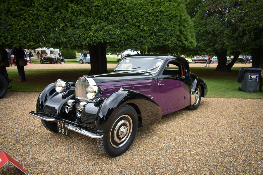 Concours of Elegance - Bugatti Type 57 Atalante Coupé by Gangloff