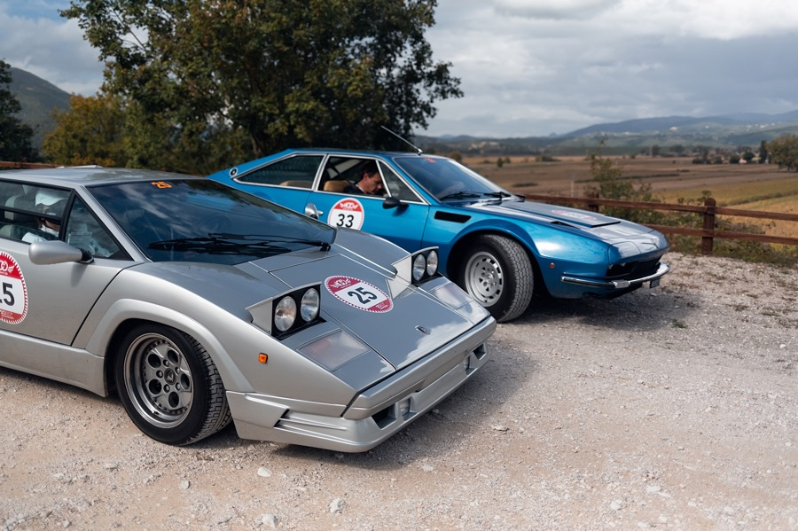 Lamborghini Countach and Jarama GTS