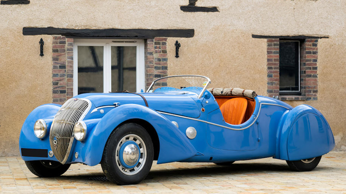 Rare Peugeot 402 Darl'mat Légère Special Sport offered For Sale