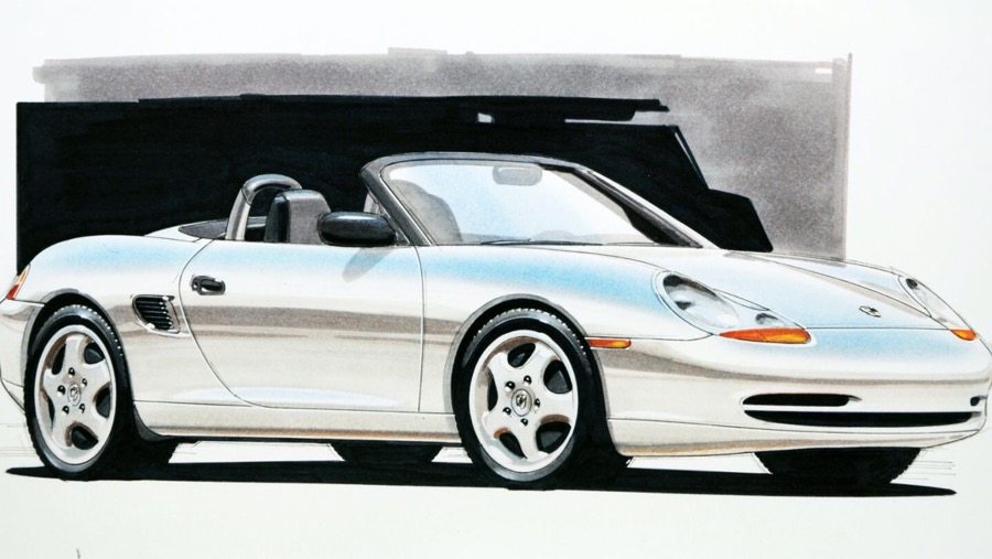 The Boxster sports car concept