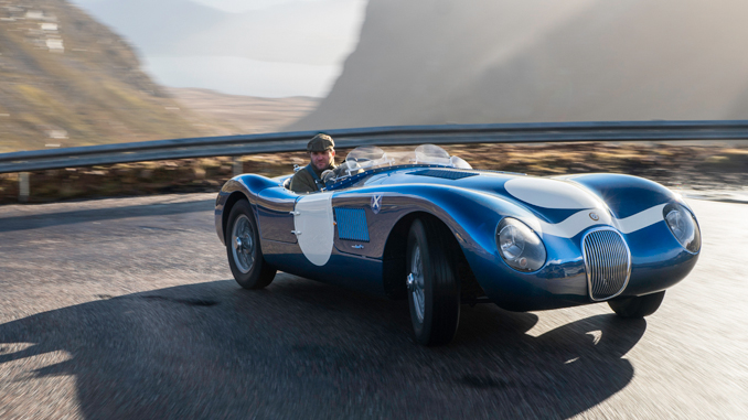 Ecurie Ecosse Pay Homage To The Magnificent Seven C-type's