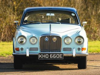 Lord Mountbatten's Jaguar 420