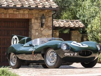 Works Jaguar D-Type OKV 2