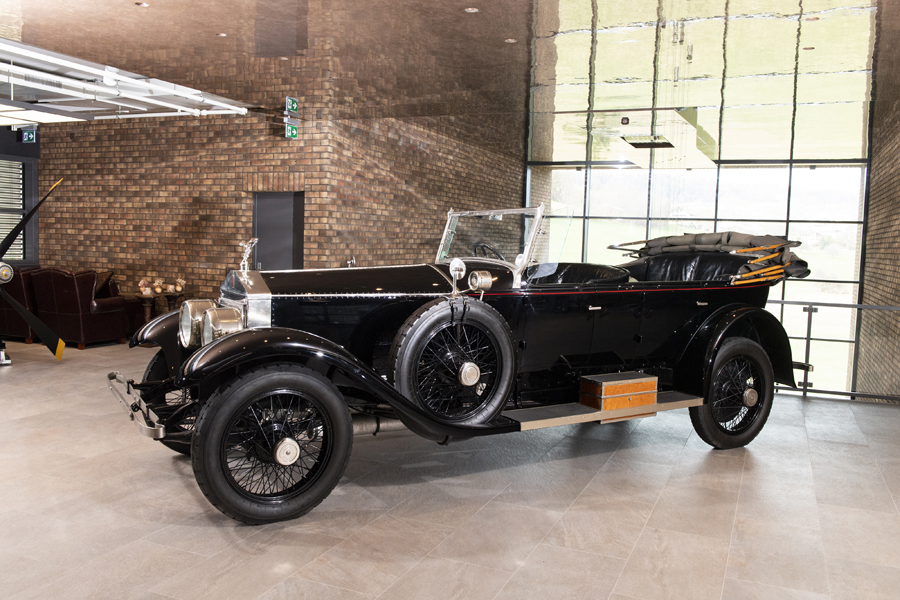 1920 Rolls-Royce Silver Ghost Pall Mall Tourer by Merrimac
