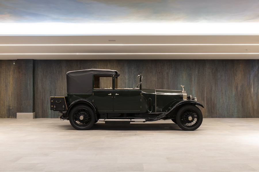 """1929 Rolls-Royce 20 HP """"Prince of Wales"""" Three-Position Cabriolet by Barker"""