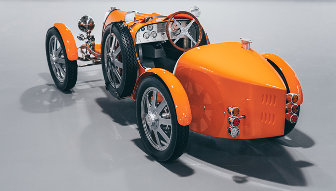 First 500 limited-edition Bugatti Baby II Models Shipped