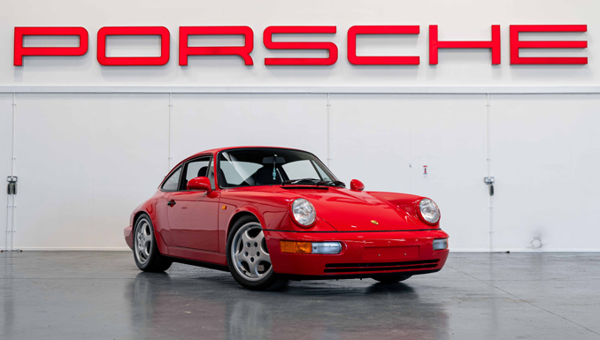 Incredible Porsche Collection Goes Under The Online Hammer