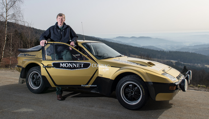 Walter Röhrl Is Reunited With His 924 Carrera 40 Years Later