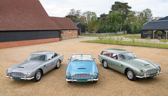 Aston Martin DB5 Vantage Collection Heads To Auction