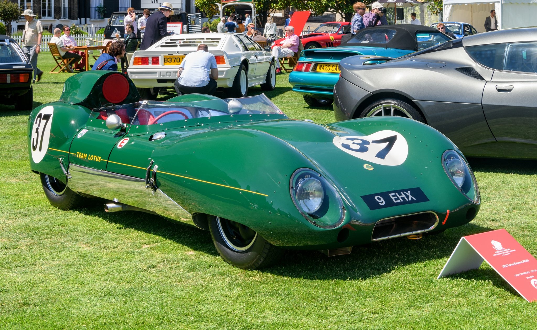 Lotus Eleven LM50 Wins Best In Show At London Concours