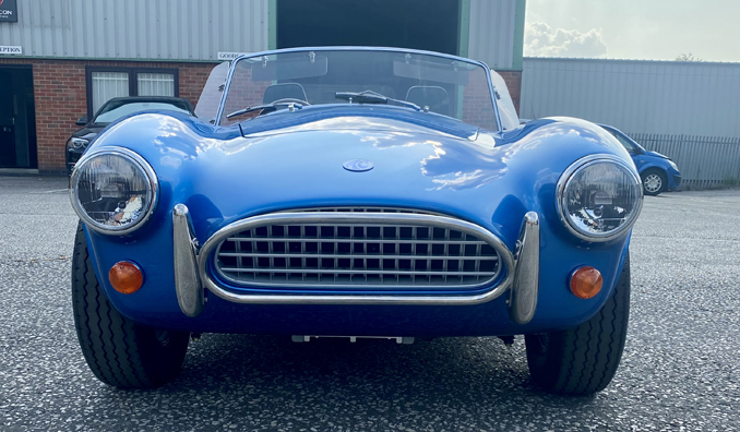 The First Of 58 AC Cobra Series 1 EV's Is Almost Ready To Hit The Road