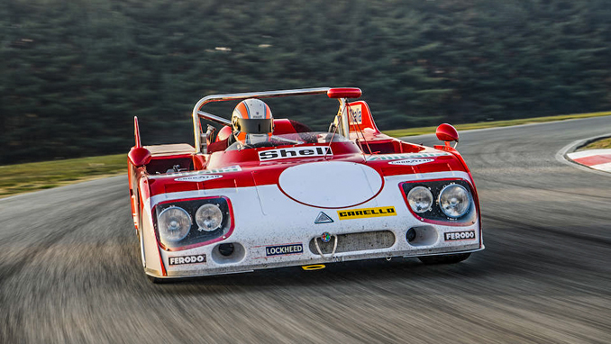 Last Ever Alfa Romeo To Compete In Le Mans 24 Hours Up For Sale