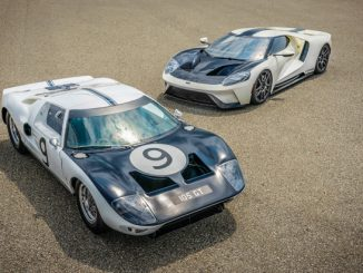 Ford GT '64 Heritage Edition and 1964 Ford GT prototype