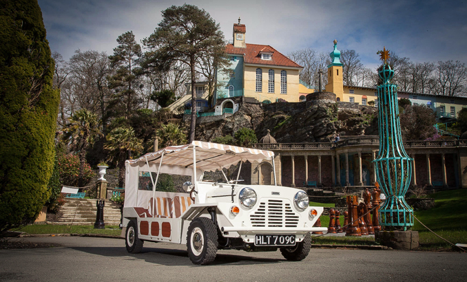 'The Prisoner' Mini Moke Is Up For Sale And Its Pretty Famous